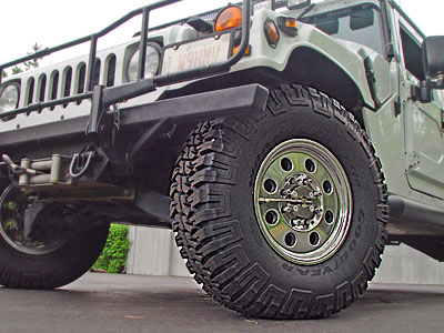 Wheels and Tires for Hummers